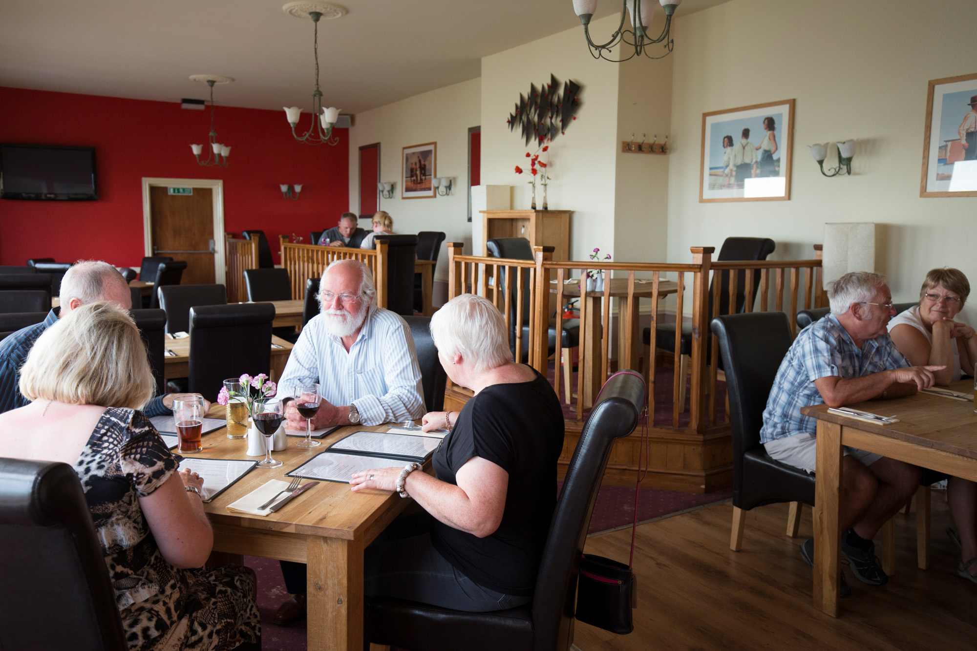 Belle Vue Tavern Pegwell Bay Indoor Dining