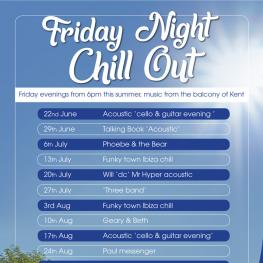 Friday Night Chill Out - Belle Vue Tavern Pegwell Bay