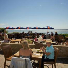 Belle Vue Tavern Pegwell Bay Outdoor Dining